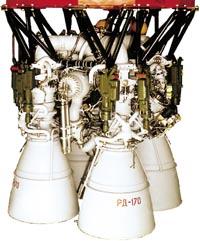 Жидкостный ракетный двигатель РД-170, СССР.  Самый мощный из когда-либо созданных.  Поиск истины - вот единственное...
